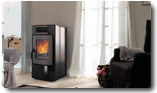 Pellet stove Puccini