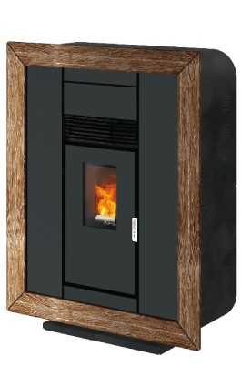 Pellet stove XS Quadra Natural